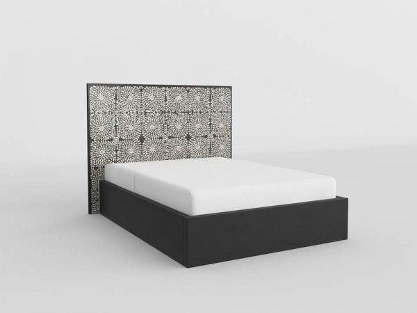 Anoushka King Size Bed 3D Model