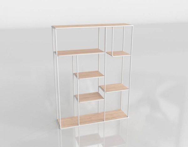 Barry Slim Shelf 3D Model