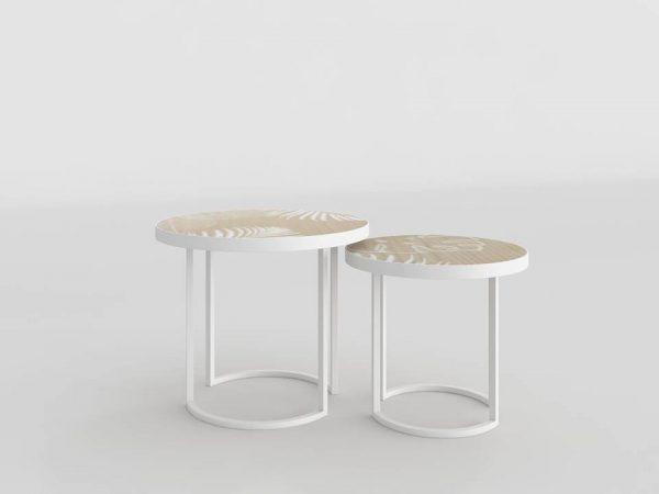 Caracas Side Tables 3D Model
