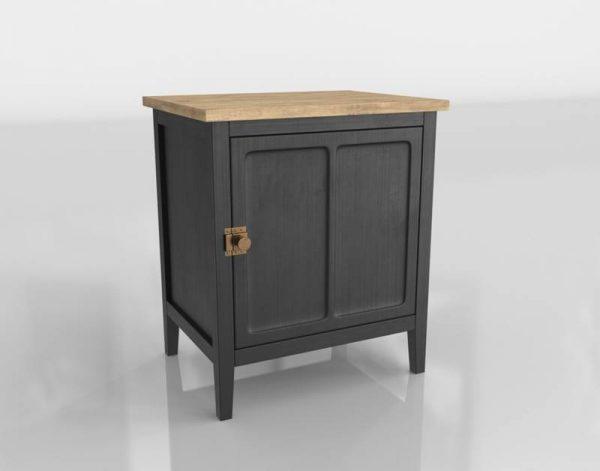 Cezanne Nightstand 3D Model