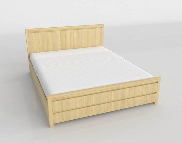 Danube Bed 3D Model