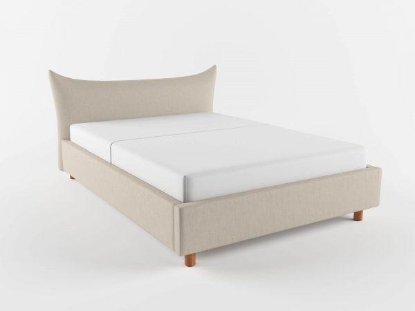 Fergus King Size Bed 3D Model