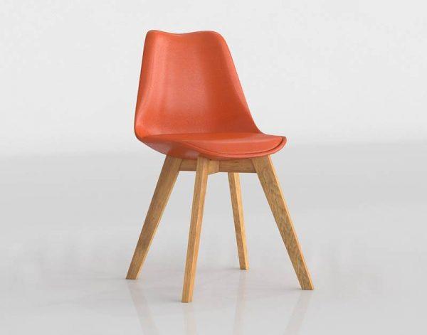 Ice Chair 3D Model
