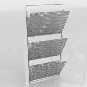 Modelo 3D Revistero Karah