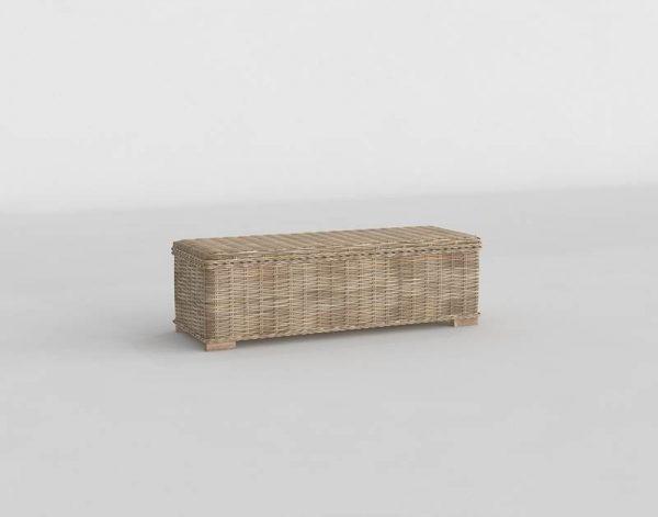 Key Bed 3D Model