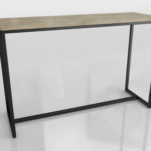 Long Island Console Table 3D Model