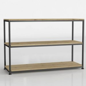Long Island Double Console Table 3D Model