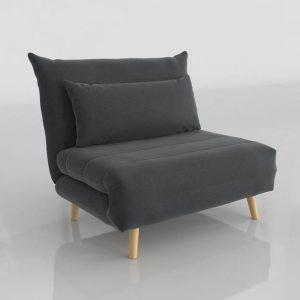 Modelo 3D Sofá Cama Nio