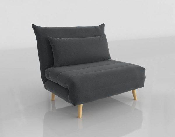 Nio Sofa Bed 3D Model