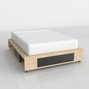 Rebel Bed 3D Model