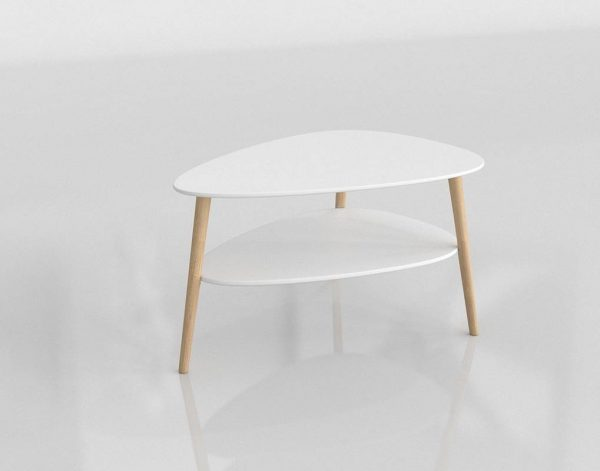 Spring Coffee Table 3D Model