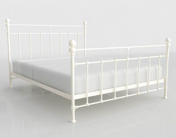 Syracuse Bed 3D Model