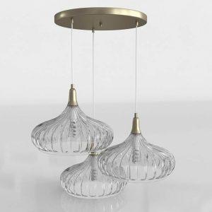 Modelo 3D Lámpara de Techo Timothee
