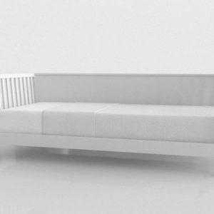 Modelo 3D Cama Tropicool