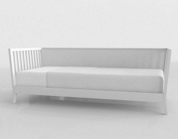 Tropicool Bed 3D Model