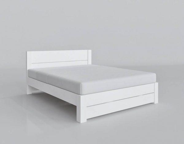 Modelo 3D Cama Doble White