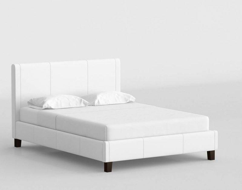 Zen Bed 3D Model